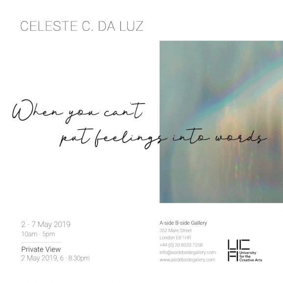 PV Invitation (AI) - When you can't put feelings into words. - Celeste C. da Luz