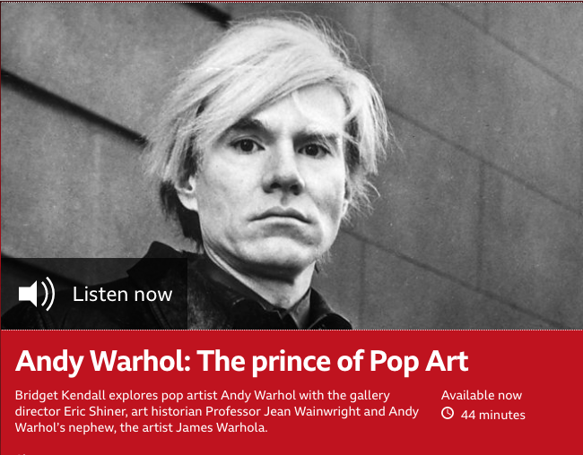 BBC World Service - Andy Warhol: The prince of Pop Art
