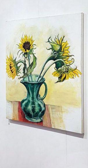 'Green Vase' - Nicole Antras