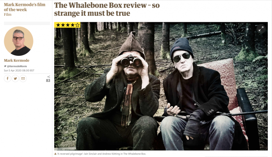 The Whalebone box - review on Guardian